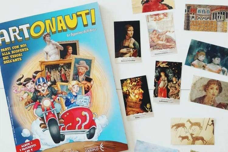 Artonauti: le figurine per giocare con l'arte, intervista a Daniela Re