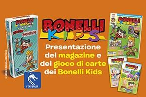 Bonelli Kids, nuovo magazine e carte gioco