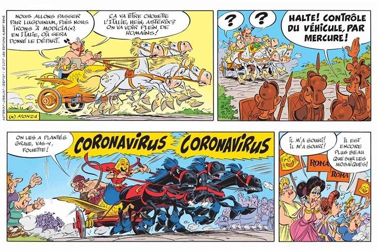CORONAVsCOMICS