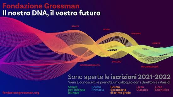 Fondazione Grossman iscrizioni