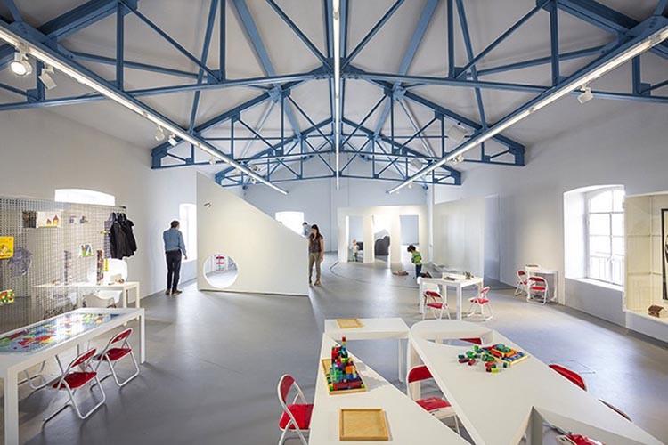 Fondazione Prada-laboratori per bambini