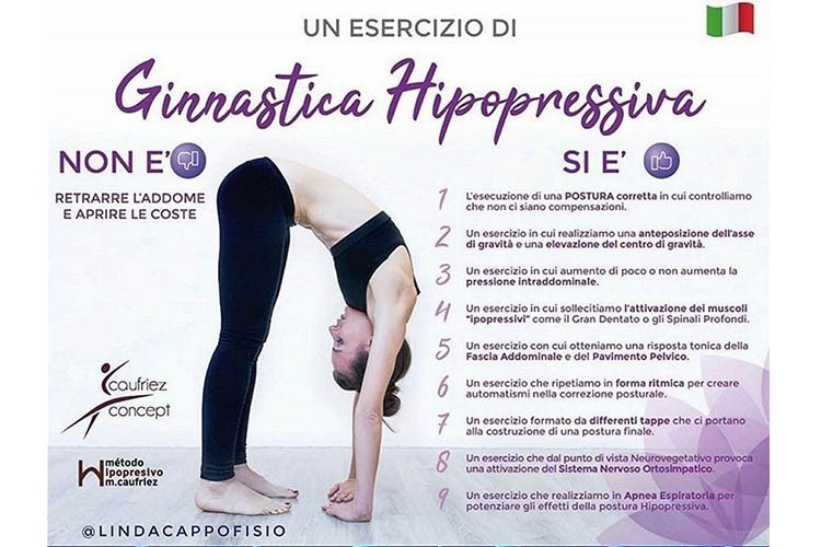 Ginnastica addominale ipopressiva con la Dott.ssa Linda Cappo