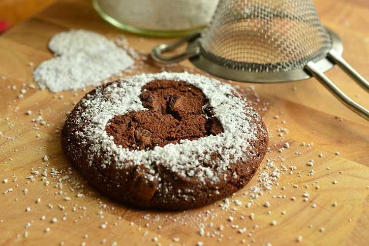 Biscotti biologici per uno spuntino sano