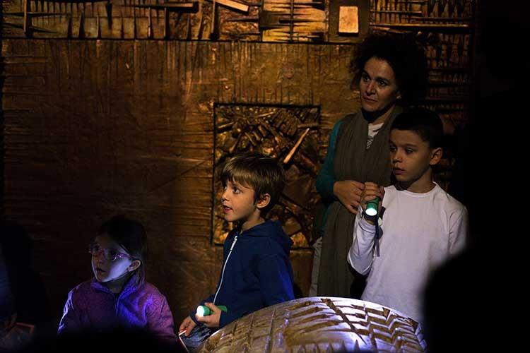 Labirinto Arnaldo Pomodoro visite guidate per famiglie