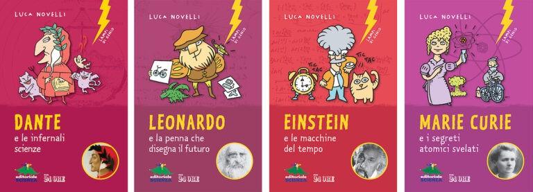 Lampi di Genio collana di libri per bambini