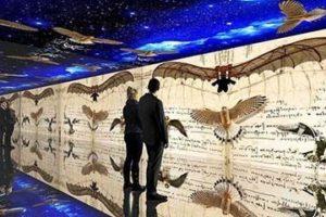 Leonardo Da Vinci 3D mostra Fabbrica del Vapore