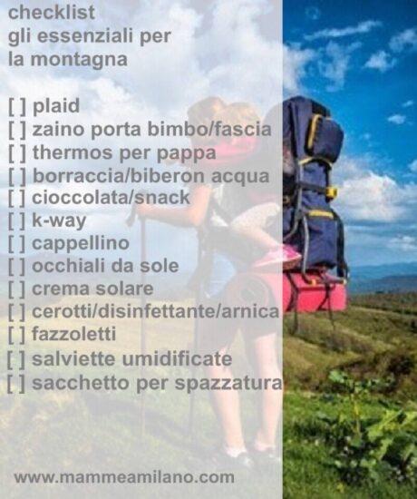 MaM_checklist montagna estate
