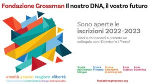 Scuole Fondazione Grossman iscrizioni
