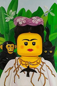 Stefano_Bolcato_Botticelli_People_Frida_Kahlo_