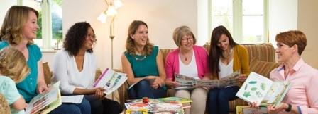 Book party Usborne Organiser