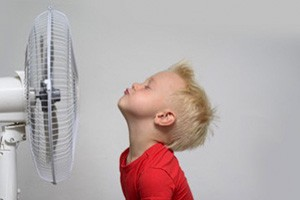 bambini e caldo