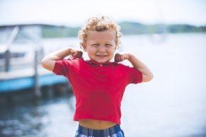 crescere bambini forti