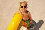 In spiaggia con i bambini