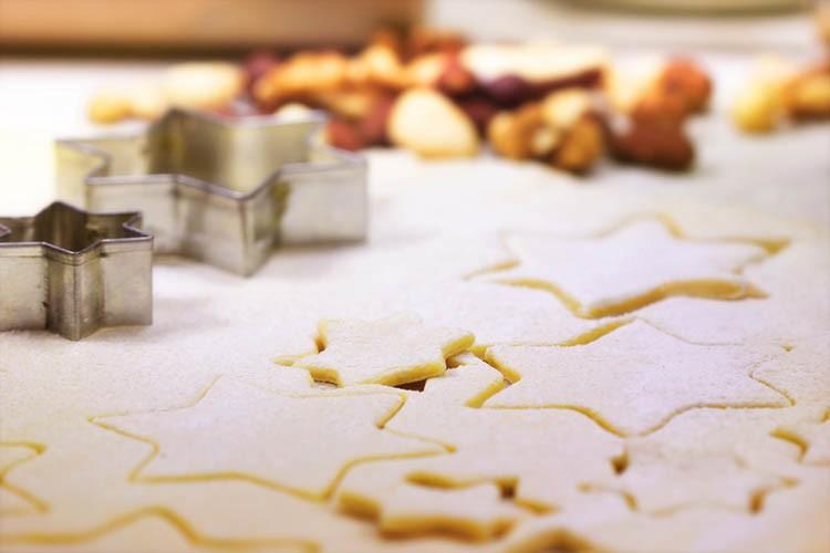 Biscotti natalizi con farina di riso