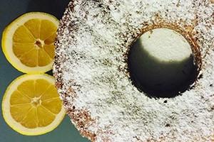 Ciambella al profumo di limone