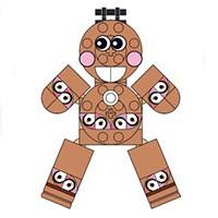 gingerbread LEGO
