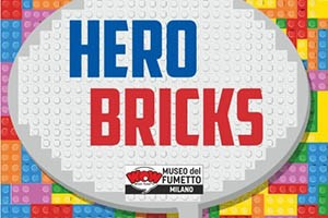 hero bricks milano mostra