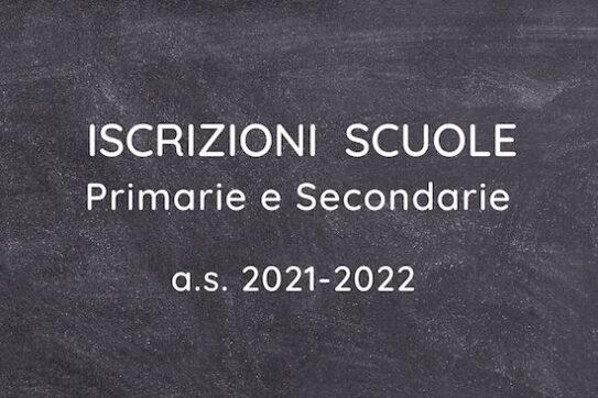 iscrizioni a scuola 2021/22