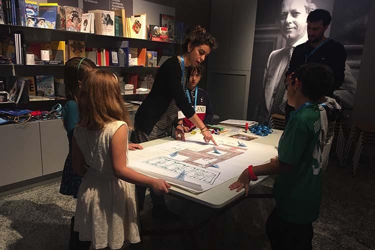 Laboratori per bambini Bottega Brera: Leggere la città