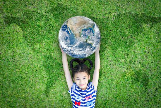 modi di essere green per bambini