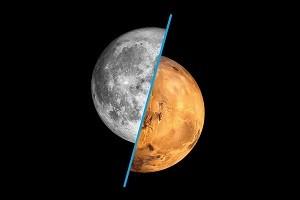 mostra la luna e poi