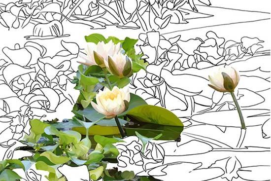 pittura digitale ebook vally in the sea world valentina puccio