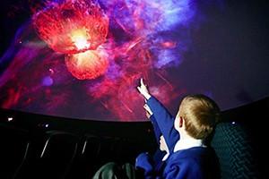 planetario milano per bambini