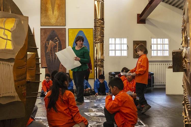 Explore:art la Fondazione Arnaldo Pomodoro per le scuole